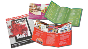 6pp DL Brochure Graphic Design