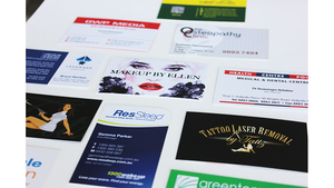 Business Card Add-Ons